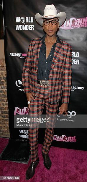 Television host RuPaul attends 'RuPaul's Drag Race' season 4 premiere party at Eleven Night Club on January 24 2012 in West Hollywood California