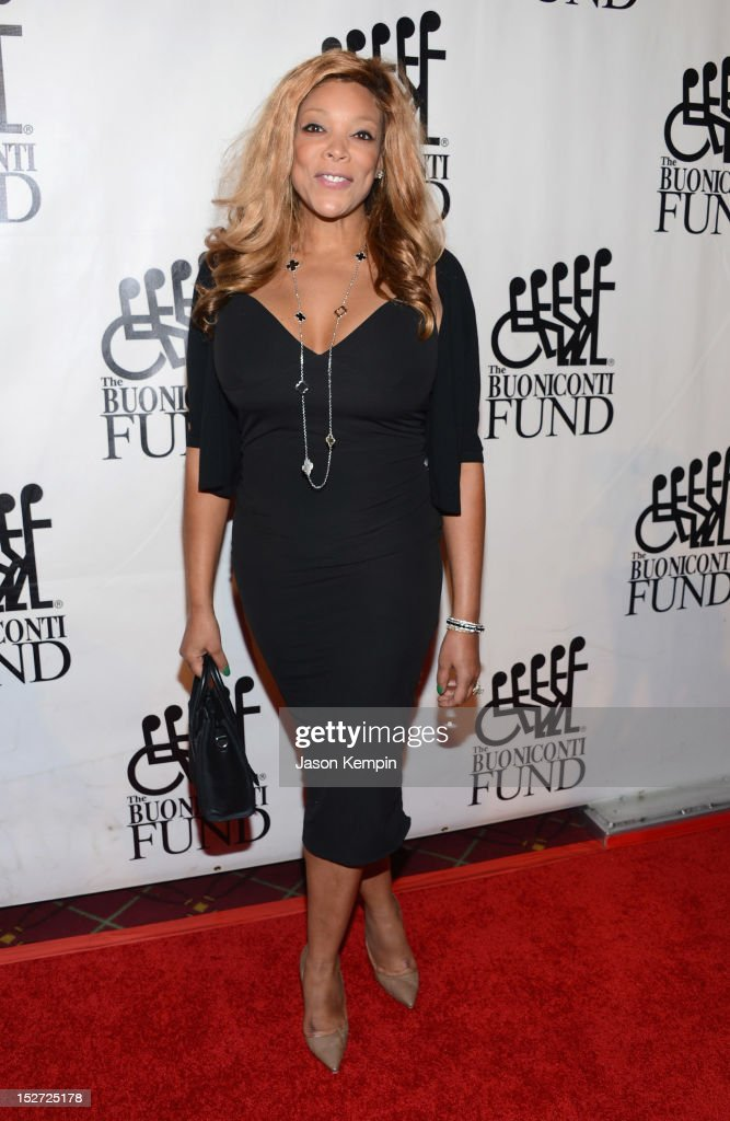 Television host <a gi-track='captionPersonalityLinkClicked' href=/galleries/search?phrase=Wendy+Williams&family=editorial&specificpeople=4134023 ng-click='$event.stopPropagation()'>Wendy Williams</a> attends the 27th Annual Great Sports Legends Dinner to benefit the Buoniconti Fund to Cure Paralysis at The Waldorf=Astoria on September 24, 2012 in New York City.