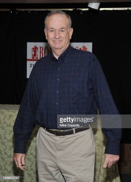 Television host/author Bill O'Reilly promotes 'Killing Lincoln The Shocking Assassination That Changed America Forever' at Bookends Bookstore on...