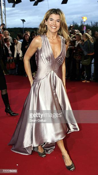 Television hostess Anke Engelke attends the German Television Awards at the Coloneum October 20 2006 in Cologne Germany