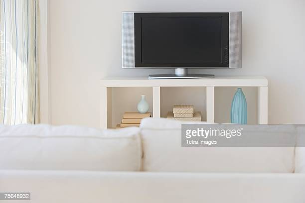 Television in living room
