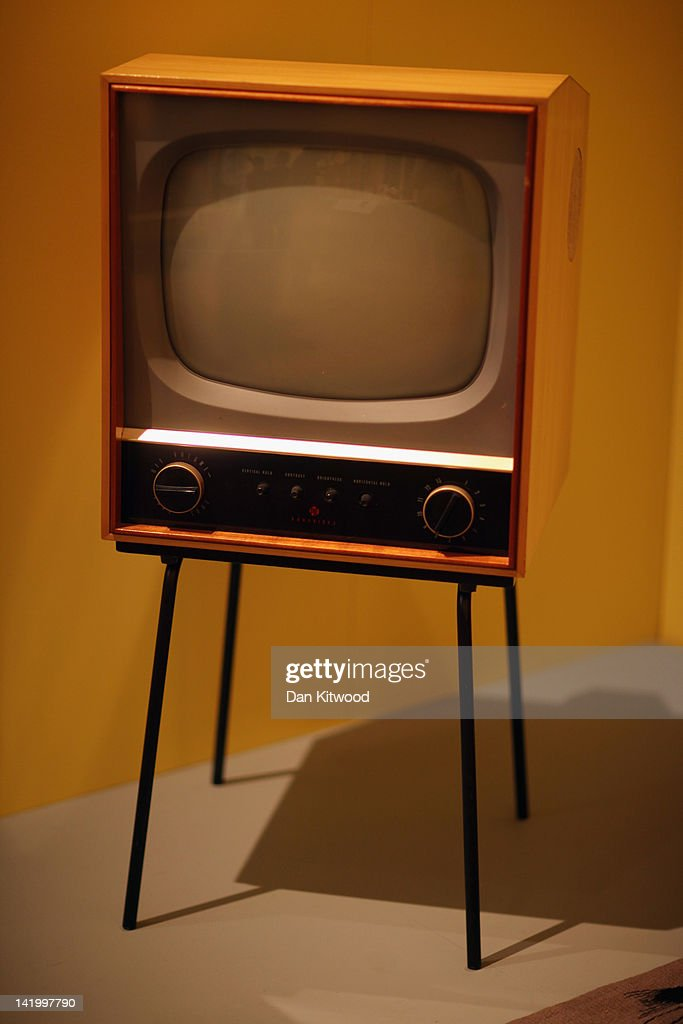 A CS17 television is displayed at the Victoria and Albert museum's new major exhibition, 'British Design 1948-2012: Innovation In The Modern Age' on March 28, 2012 in London, England. The exhibition showcases some of the most iconic product design, fashion, furniture, graphics, architecture and fine art from the last 60 years, and opens to the public from March 31, 2012.
