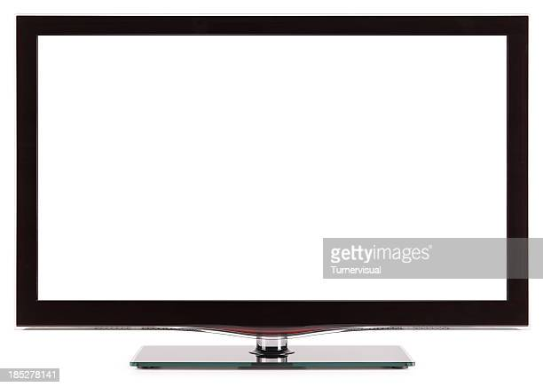 LCD/LED Television Isolated + Clipping Path