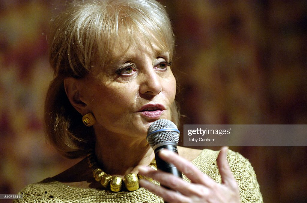 Television journalist Barbara Walters participates in Town Hall Los Angeles' Writers Bloc Q&A at her book signing for 'Audition: A Memoir' held at the Writers Guild Theater May 13, 2008 in Beverly Hills, California.