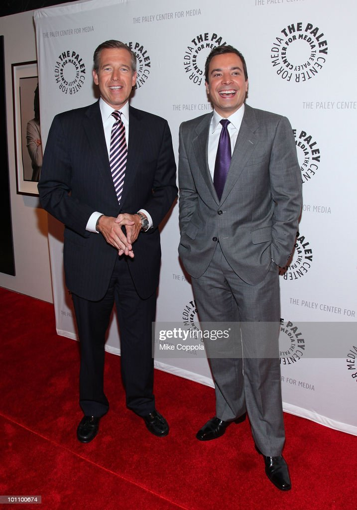 The Paley Center Presents Late Night With Jimmy Fallon & Brian Williams