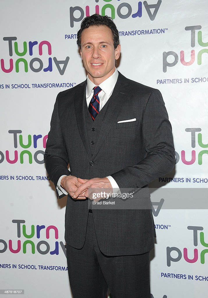 Television journalist <a gi-track='captionPersonalityLinkClicked' href=/galleries/search?phrase=Chris+Cuomo&family=editorial&specificpeople=649814 ng-click='$event.stopPropagation()'>Chris Cuomo</a> attends the Turnaround For Children's 5th Annual Impact Awards Dinner at Cipriani 42nd Street on April 30, 2014 in New York City.