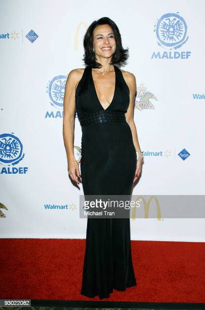 Television journalist Giselle Fernandez arrives at MALDEF's 35th Annual Los Angeles Awards Gala held at the Westin Bonaventure Hotel on November 12...