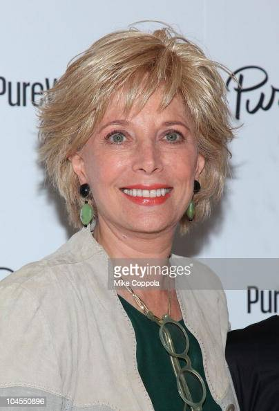 television journalist leslie stahl attends the purewow launch
