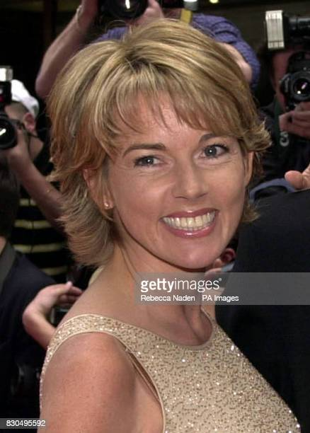 Television newsreader Mary Nightingale arrives at the British Academy TV Awards in London 16/11/00 Nightingale is to join ITV News from January 2001...