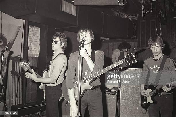 Television perform live at CBGB's in New York in 1975 LR Richard Hell Tom Verlaine Billy Ficca Richard Lloyd