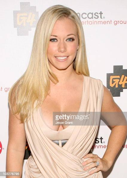 Television personaliity Kendra Wilkinson arrives at the Comcast Entertainment Group TCA Cocktail Party held at The Beverly Hilton Hotel on August 6...