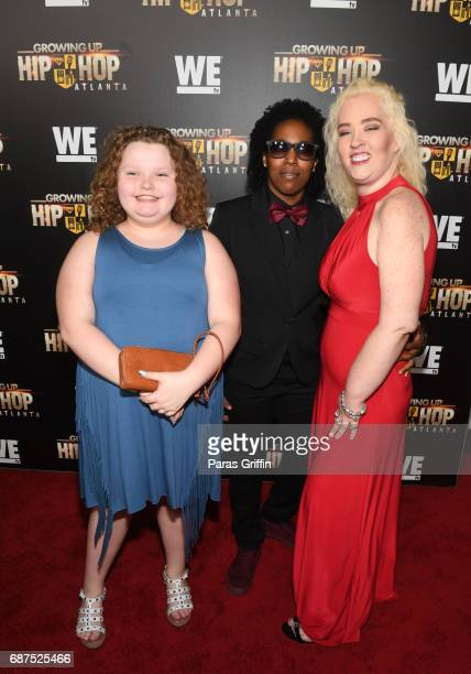 Television personalities Alana Thompson and June Shannon attend 'Growing Up Hip Hop Atlanta' Atlanta Premiere at Woodruff Arts Center on May 23 2017...