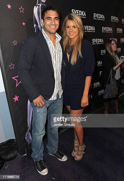Television personalities Ali Fedotowsky and Roberto Martinez attend SVEDKA Vodka's A Night Of A Billion Reality Stars Premiere Event at Lexington...
