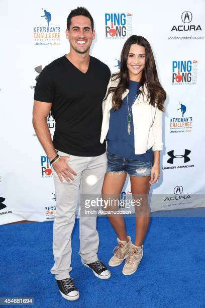 Television personalities Andi Dorfman and Josh Murray attend Clayton Kershaw's 2nd Annual Ping Pong 4 Purpose charity event benefiting 'Kershaw's...