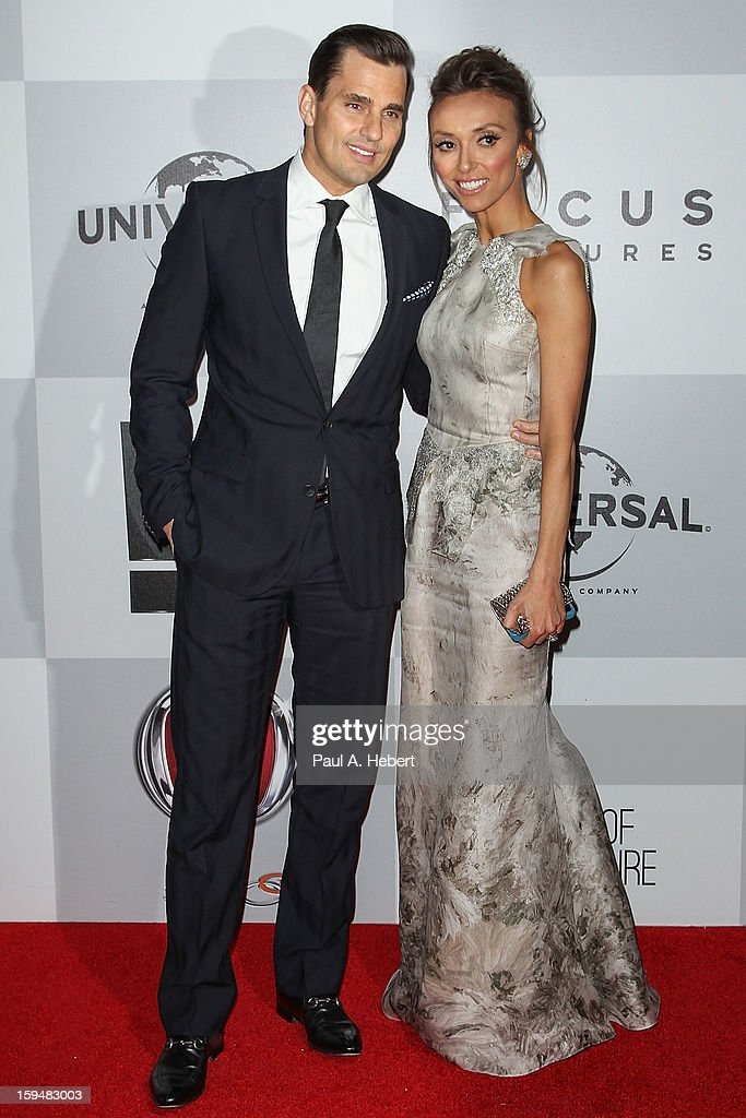 Television personalities Bill Rancic (L) and Giuliana Rancic arrive at NBC Universal's 70th Annual Golden Globe Awards after party held at the Beverly Hilton Hotel on January 13, 2013 in Beverly Hills, California.