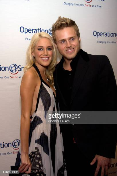 Television personalities Heidi Montag and Spencer Pratt arrive at the 7th Annual Operation Smile Gala at the Beverly Hilton on September 18 2008 in...