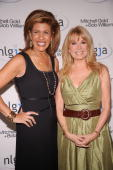 Television personalities Hoda Kotb and Kathie Lee Gifford attend the NLGJA�s 15th Annual New York Benefit at Mitchell Gold Bob Williams SoHo Store on...