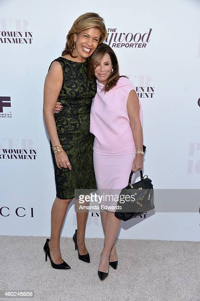 Television personalities Hoda Kotb and Melissa Rivers arrive at The Hollywood Reporter's Women In Entertainment Breakfast at Milk Studios on December...