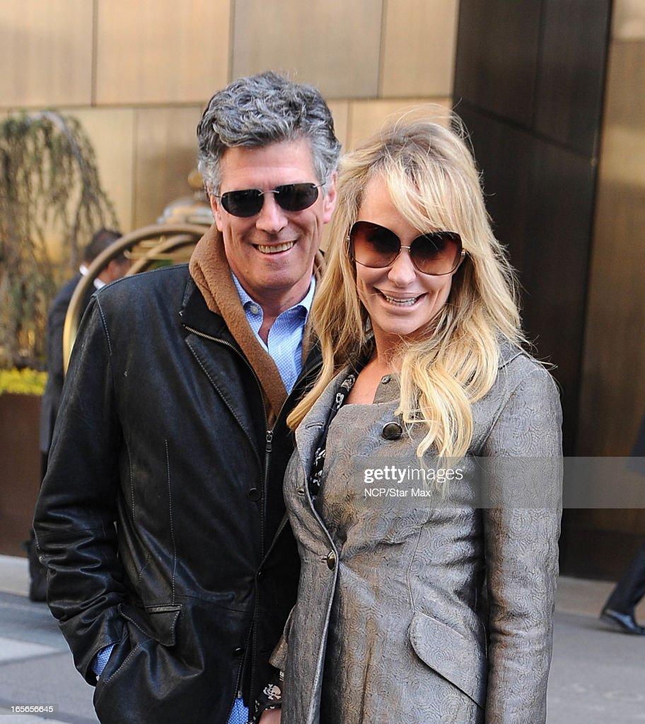 Celebrity Sightings In New York City - April 4, 2013