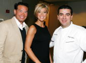 Television personalities Jon Gosselin and Kate Gosselin of TLC's 'Jon Kate Plus 8' and Buddy Valastro of TLC's 'Cake Boss' attend Discovery Upfront...