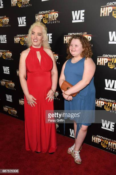 Television personalities June Shannon and Alana Thompson attend 'Growing Up Hip Hop Atlanta' Atlanta Premiere at Woodruff Arts Center on May 23 2017...