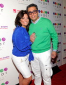 Television personalities Kathy Wakile and Richard Wakile arrive at the Sugar Factory at the Miracle Mile Shops at Planet Hollywood Resort Casino on...