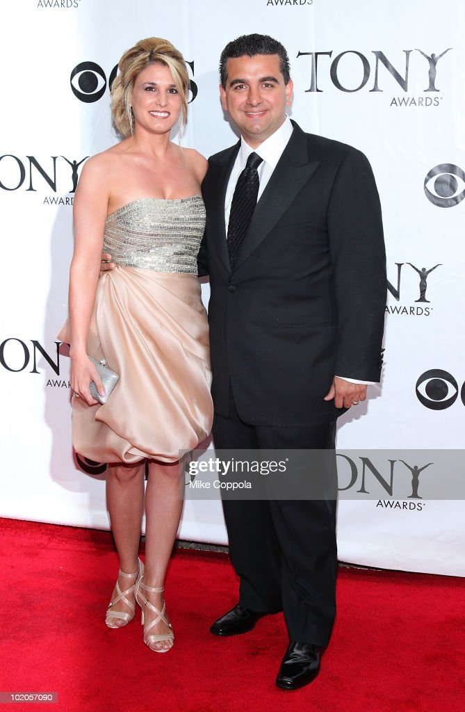 Television personalities Lisa Valastro (L) and Buddy Valastro attend the 64th Annual Tony Awards at Radio City Music Hall on June 13, 2010 in New York City.
