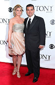 Television personalities Lisa Valastro and Buddy Valastro attend the 64th Annual Tony Awards at Radio City Music Hall on June 13 2010 in New York City
