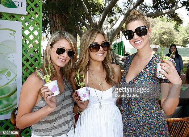 Television personalities Lo' Bosworth Lauren Conrad and Whitney Port attend the Matrix at A Time for Heroes Celebrity Carnival Benefiting the...