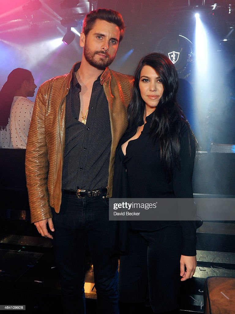 Scott Disick at 1 OAK Nightclub at The Mirage