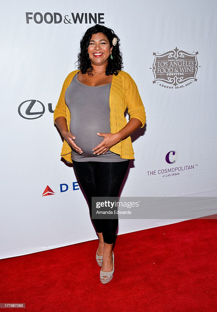 Television personality Aarti Sequeira arrives at the opening night of the 2013 Los Angeles Food & Wine Festival - 'Festa Italiana With Giada De Laurentiis' on August 22, 2013 in Los Angeles, California.