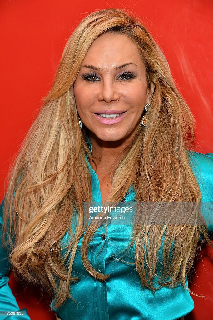 """Adrienne Maloof Appears At GNC Beverly Center To Promote """"Never Hungover"""" Elixir"""