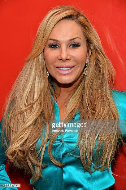 Television personality Adrienne Maloof appears at GNC Beverly Center to promote 'Never Hungover' elixir at GNC at The Beverly Center on February 27...