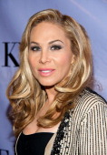 Television personality Adrienne Maloof arrives at the grand opening of Kyle Richards' new boutique 'Kyle By Alene Too' on July 21 2012 in Beverly...