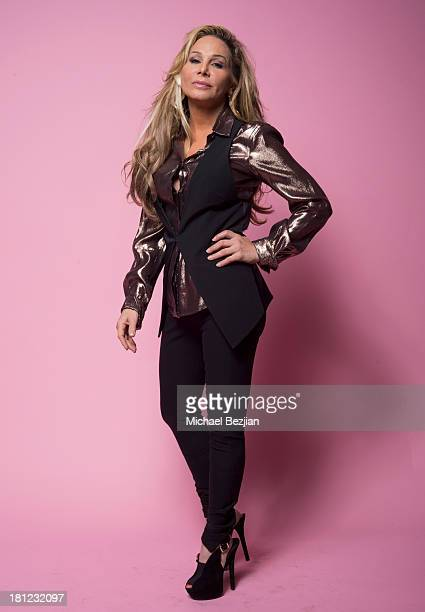 Television personality Adrienne Maloof attends Mark Kearney Group 'Iced Out' Luxury Emmy Suite on September 19 2013 in Los Angeles California