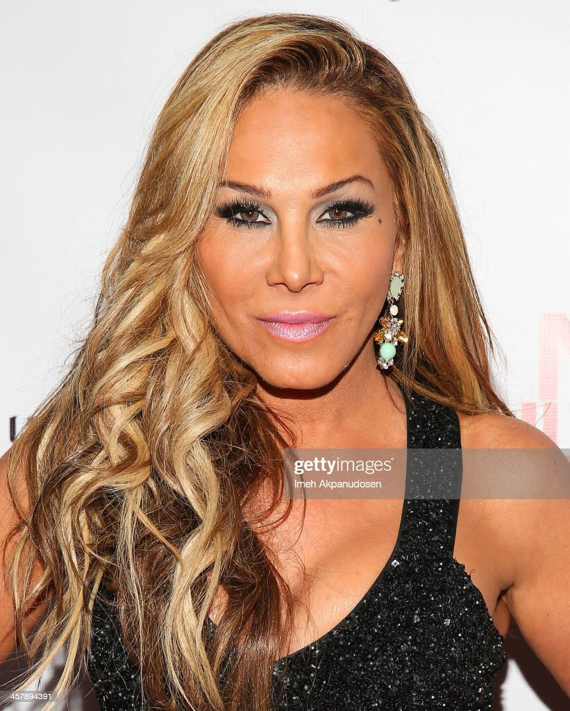 Television personality Adrienne Maloof attends The Maloof Foundation And Jacob's Peter W. Busch Family Foundation hosting a holiday toy donation For Children's Hospital on December 18, 2013 in Beverly Hills, California.