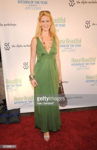 Television personality Alex McCord attends House Beautiful's 2010 Kitchen Of The Year opening night in Rockefeller Center on July 19 2010 in New York...