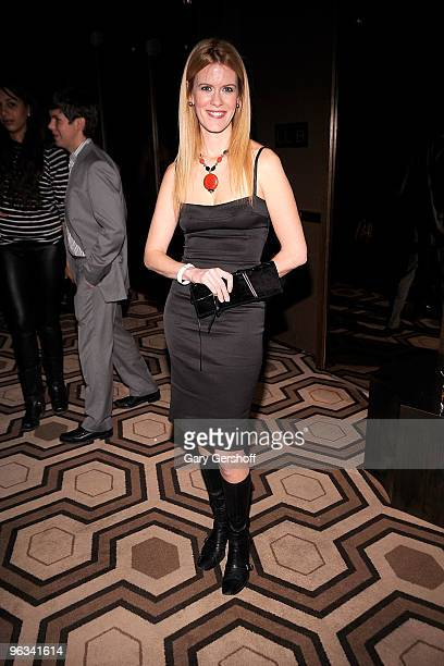 Television personality Alex McCord attends the premiere of 'Kell on Earth' at the Tribeca Grand Hotel on February 1 2010 in New York City