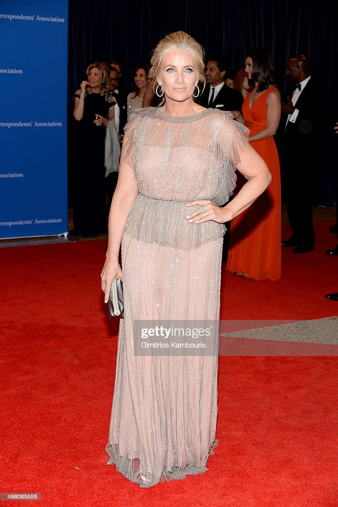 Television personality Alex Witt attends the 100th Annual White House Correspondents' Association Dinner at the Washington Hilton on May 3, 2014 in Washington, DC.