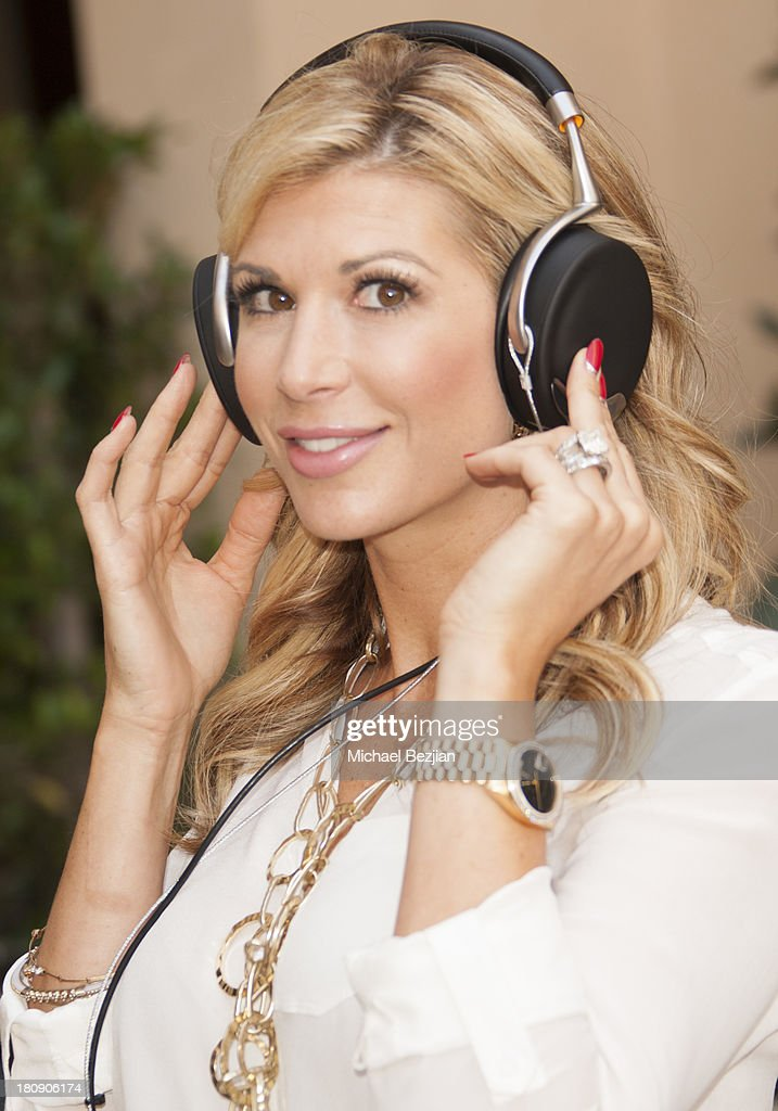 Television personality Alexis Bellino attends Bellafortuna Luxury Gift Suite Presented By Feri on September 17 2013 in Beverly Hills California
