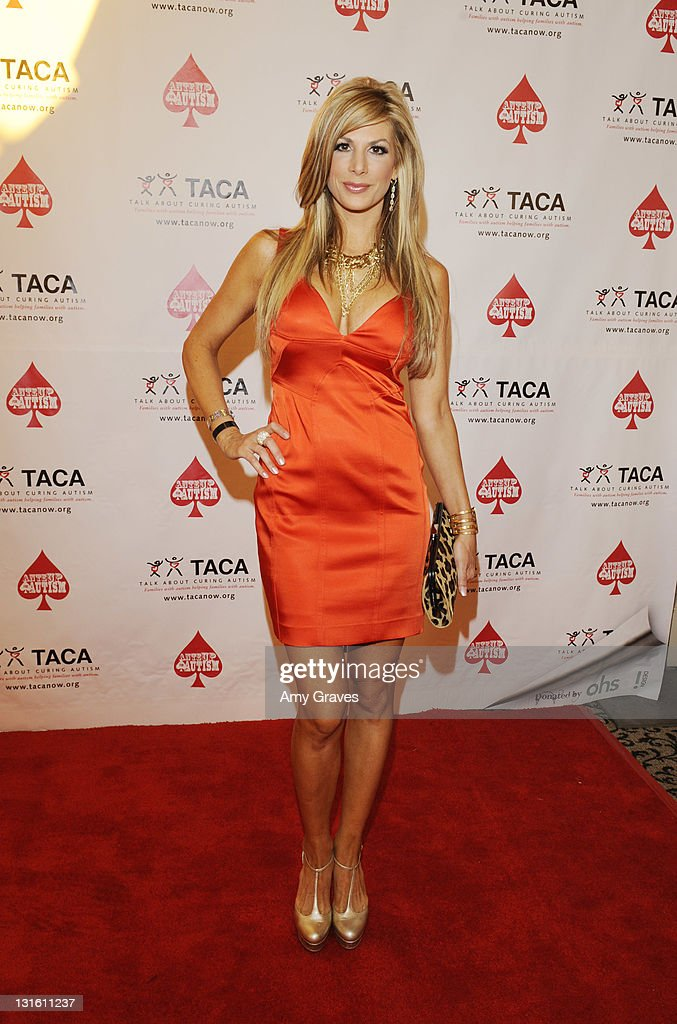 Television personality Alexis Bellino attends the Ante-Up for Autism Event at St. Regis Monarch Beach Resort on November 5, 2011 in Dana Point, California.