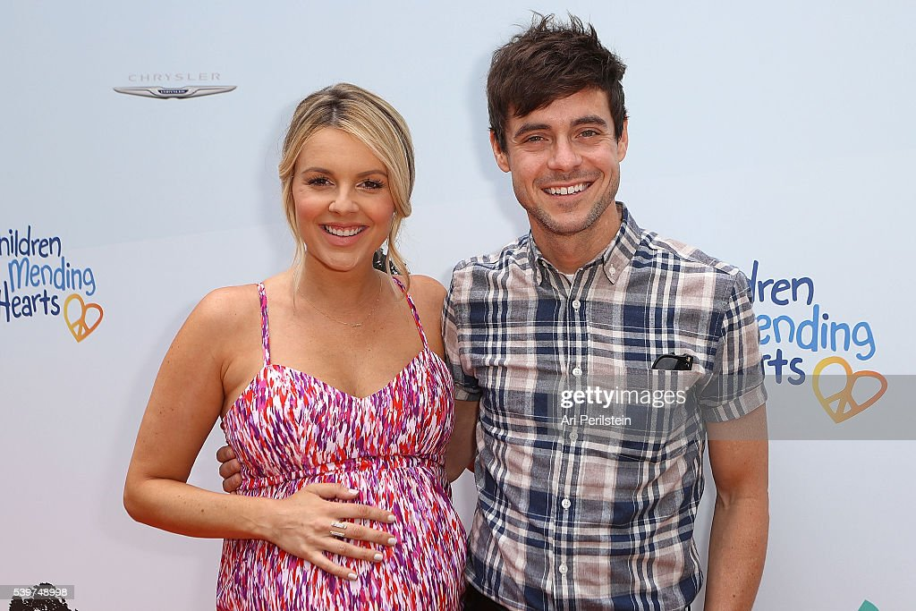 Television Personality Ali Fedotowsky and Kevin Manno arrive at Children Mending Hearts and Vintage Grocers Presents the 8th Annual 'Empathy Rocks'...