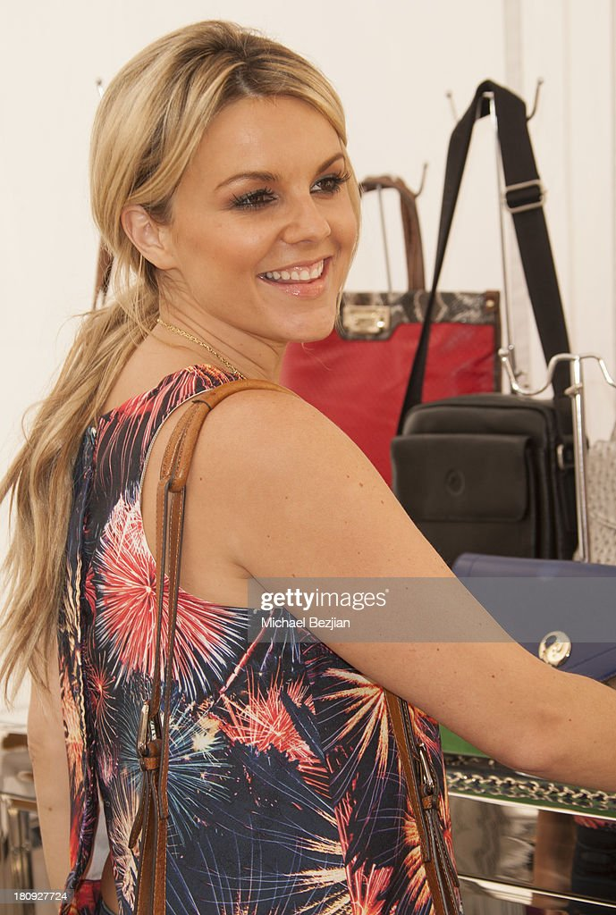 Television personality <a gi-track='captionPersonalityLinkClicked' href=/galleries/search?phrase=Ali+Fedotowsky&family=editorial&specificpeople=6799459 ng-click='$event.stopPropagation()'>Ali Fedotowsky</a> attends Bellafortuna Luxury Gift Suite Presented By Feri on September 17, 2013 in Beverly Hills, California.