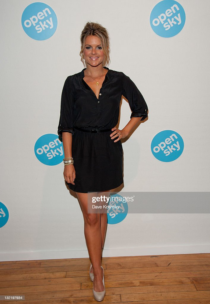 Television personality <a gi-track='captionPersonalityLinkClicked' href=/galleries/search?phrase=Ali+Fedotowsky&family=editorial&specificpeople=6799459 ng-click='$event.stopPropagation()'>Ali Fedotowsky</a> attends the OpenSky Pop-Up Gallery launch at 477 Broome Street on November 10, 2011 in New York City.