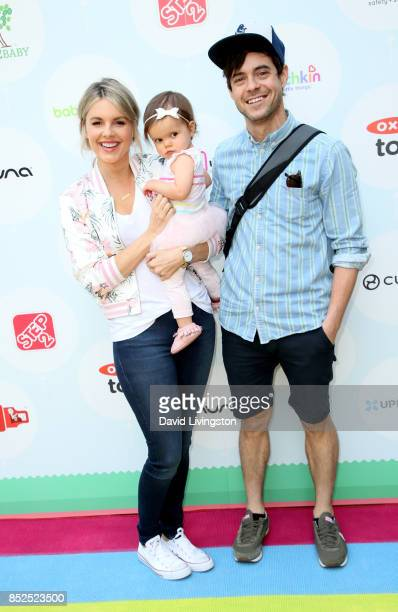 Television personality Ali Fedotowsky Molly Manno and Kevin Manno attend the 6th Annual Celebrity Red CARpet Safety Awareness Event at Sony Studios...