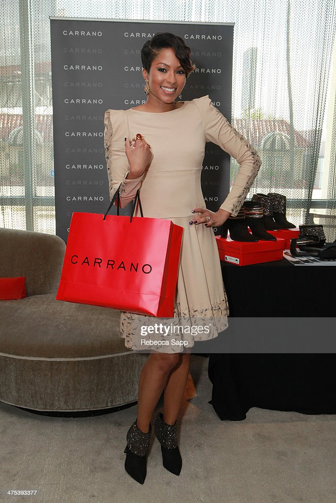 Television personality Alicia Quarles attends Kari Feinstein's Pre-Academy Awards Style Lounge at the Andaz West Hollywood on February 27, 2014 in Los Angeles, California.