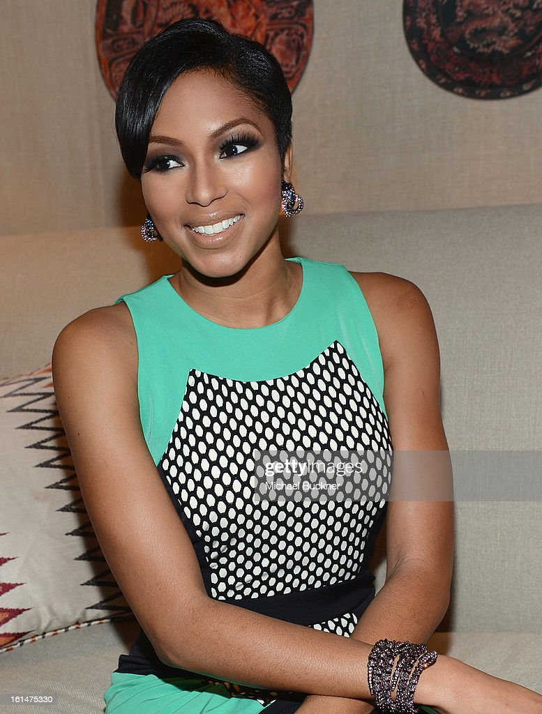 Television personality Alicia Quarles attends the Mercedes-Benz Star Lounge during Mercedes-Benz Fashion Week Fall 2013 at Lincoln Center on February 11, 2013 in New York City.