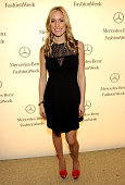 Television personality and actress Kristin Cavallari MercedesBenz Fashion Week at Lincoln Center on February 13 2012 in New York City