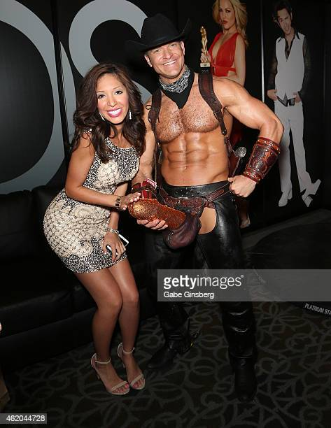 Television personality and adult film actress Farrah Abraham and adult performance artist Brent Ray Fraser attend the 2015 AVN Adult Entertainment...