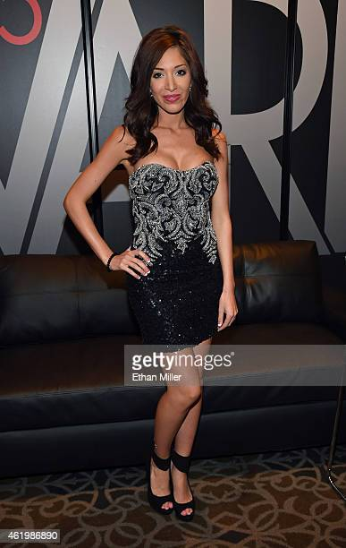 Television personality and adult film actress Farrah Abraham attends the 2015 AVN Adult Entertainment Expo at the Hard Rock Hotel Casino on January...